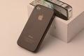Силиконовый чехол ультратонкий 0.7мм Черный для Iphone 4/4s