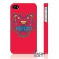 Пластиковый чехол Kenzo Paris Красный для IPhone 4/4s