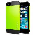 Защитный чехол SGP Slim Armor Зеленый для IPhone 5/5s