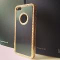Чехол со стразами, цвет Черный для IPhone 5/5s