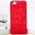 Чехольчик SweatchEasy Blossom на iPhone 5, красный Цветок Blosso