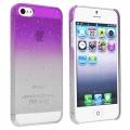 чехол для iphone 5/5s Raindrop Purple Капли Дождя Фиолетовый