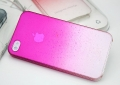Чехол для  iphone 4/4s Raindrop Hot Pink Капли Дождя Ярко Розовы