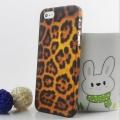 Чехол для  IPhone 55sПластиковый чехол Leopard Леопард прозрачн