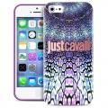 чехол  для IPhone 44s  Justcavalli Wild Mandala Фиолетовый