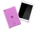 Чехол для Ipad 5 Air прозрачный розовый