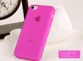 чехол ультратонкий 0.7мм Розовый для Iphone 5с
