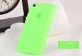 чехол ультратонкий 0.7мм Лайм для Iphone 5с