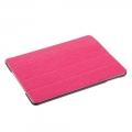 Чехол для ipad 5 Air кожа ультратонкий Ярко розовый
