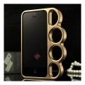 Чехол для Iphone 5 5s  Кастет Золото пластик