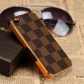 Чехол для iphone 5/5s Louis Vuitton золотой пластик