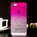 ЧЕХОЛ ДЛЯ  Iphone 5/5s     Raindrop Hot Pink Капли Дождя Ярко Ро
