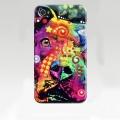 Чехол пластиковый Разноцветная собака для IPhone 4/4s
