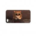 Чехол пластиковый Кот из Шрека для IPhone 5/5s