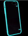 Чехол для Iphone 5/5s белый светящийся
