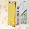 чехол с стразами Золотой Gold для IPhone 5/5s