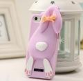 чехол для iPhone 4/4s Moschino Violetta Rabbit Фиолетовый