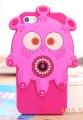 чехол Монстер Monster YO! Ярко Розовый для iPhone 5/5s