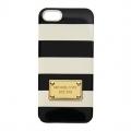 чехол для IPhone 5/5s Michael Kors Striped Black&White