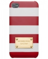 чехол для IPhone 5/5 Michael Kors Striped Red&White