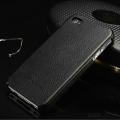 Накладка кожаная fashion для iphone 5/5s  Черная
