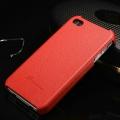Накладка кожаная fashion для iphone 5/5s Красная