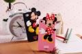 Чехол силиконовый Микки розовый для Iphone 5 / 5s