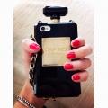 Чехол Флакон парфюм chanel для iphone 5/5s black