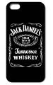 Пластиковый чехол Jack Daniels Черный для IPhone 5/5s