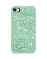 case iphone 4 4s цветов чехол blossom минт