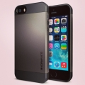 iPhone 5 Case Slim Armor Gun metalll