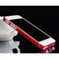 iphone 5 Cross-Line Aluminum Ultrathin 0.7мм  Dante Red
