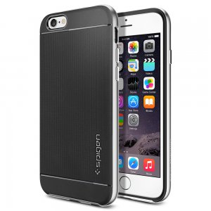 iPhone 6 Case Neo Hybrid (4.7) Satin Silver