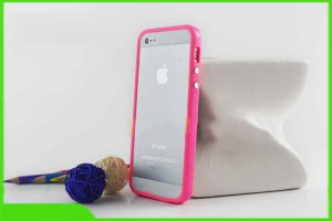 Apple bumper Iphone 5 Pink