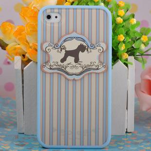 Чехол для IPhone 4/4s Ero case Dog Retro