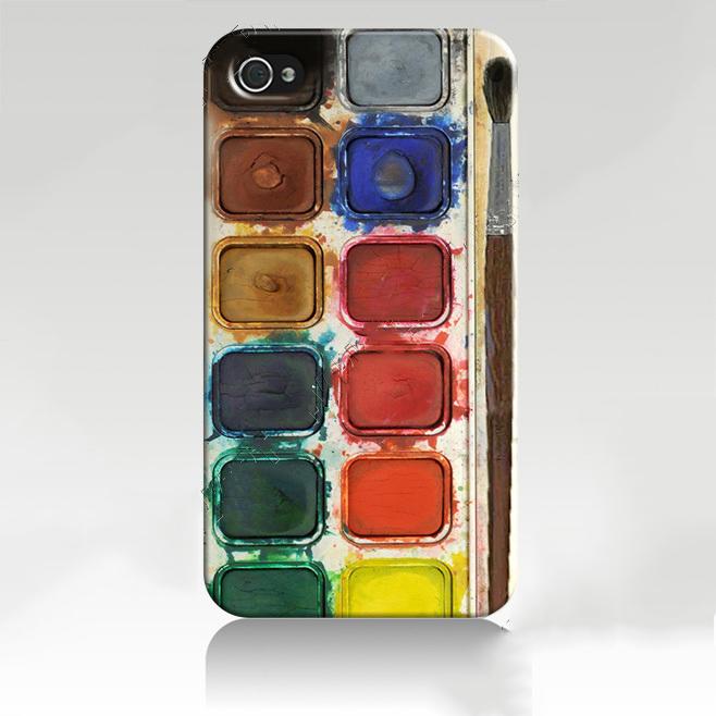 Iphone 5 чехол Краски для рисования ексклюзив