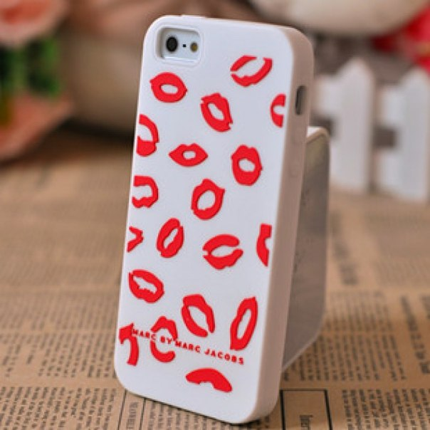 100 грн Iphone 5 case Marc by Marc Jacobs Sweet Kiss